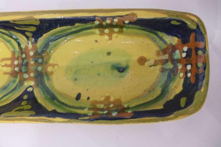 Danish Bjorn Wiinblad Ceramic Dish