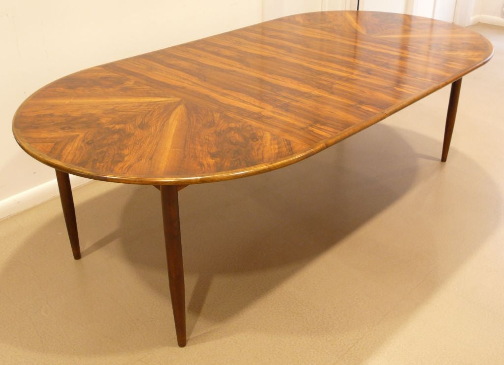 Extension Dining Table with Brazilian Rosewood Top at 1stdibs : 828513168894981 from 1stdibs.com size 1024 x 741 jpeg 67kB