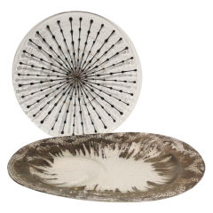 Designer Glass Platter