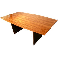Boldly Grained Tawi Wood Dunbar Extension Table