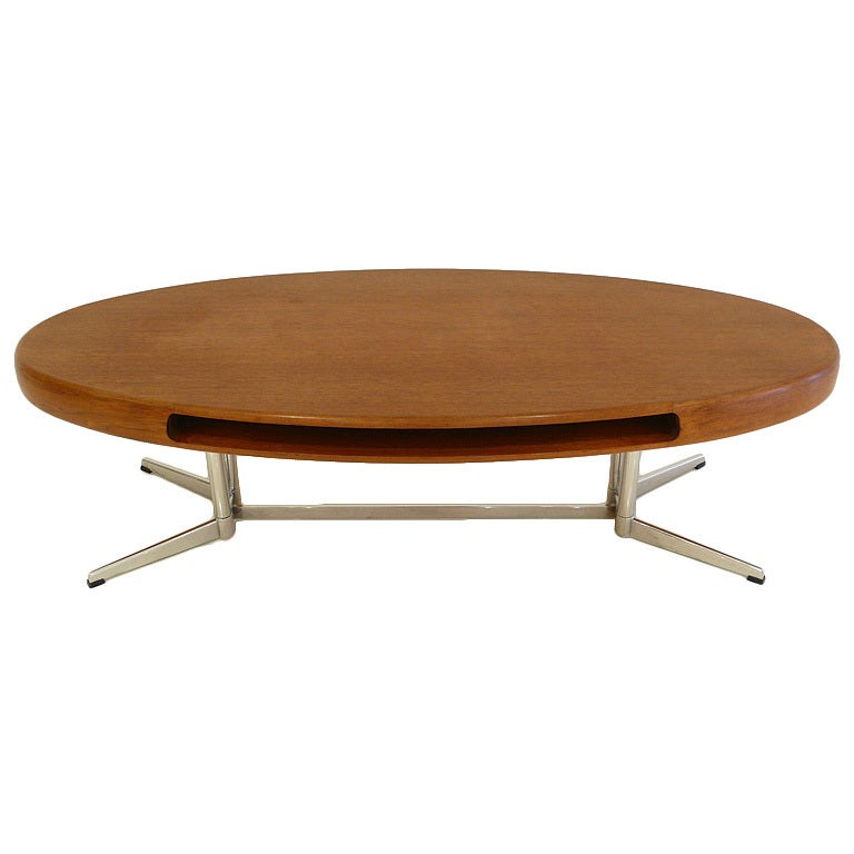 Capri group surfboard table by johannes andersen at 1stdibs for Surfboard coffee table