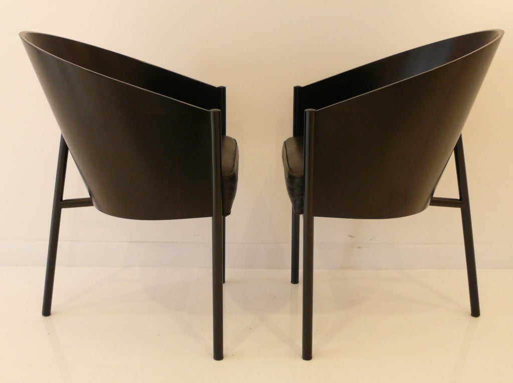 Set of four philippe starck costes chairs at 1stdibs for Philippe starck chaise
