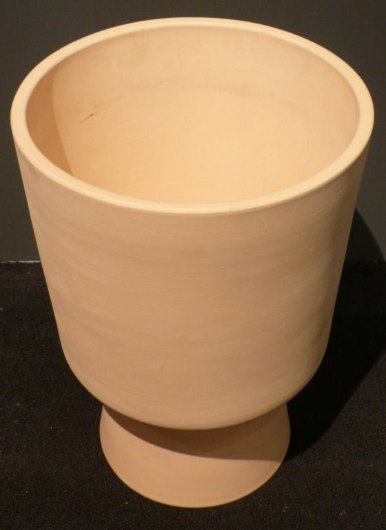 Bisque Architectural Pottery Planter By Malcolm Leland For