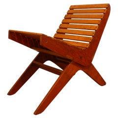 Mid Century Tilt-Back Chair