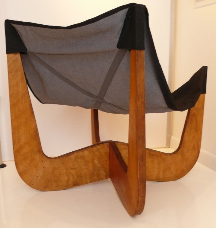 Prototype Sling Chair by Henry Glass at 1stdibs