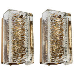 Pukeberg Glass Sconces