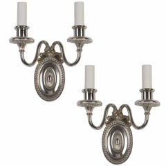 A pair of double-light E. F. Caldwell sconces