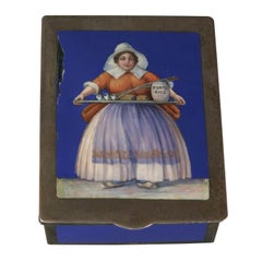 Enameled box by E. F. Caldwell