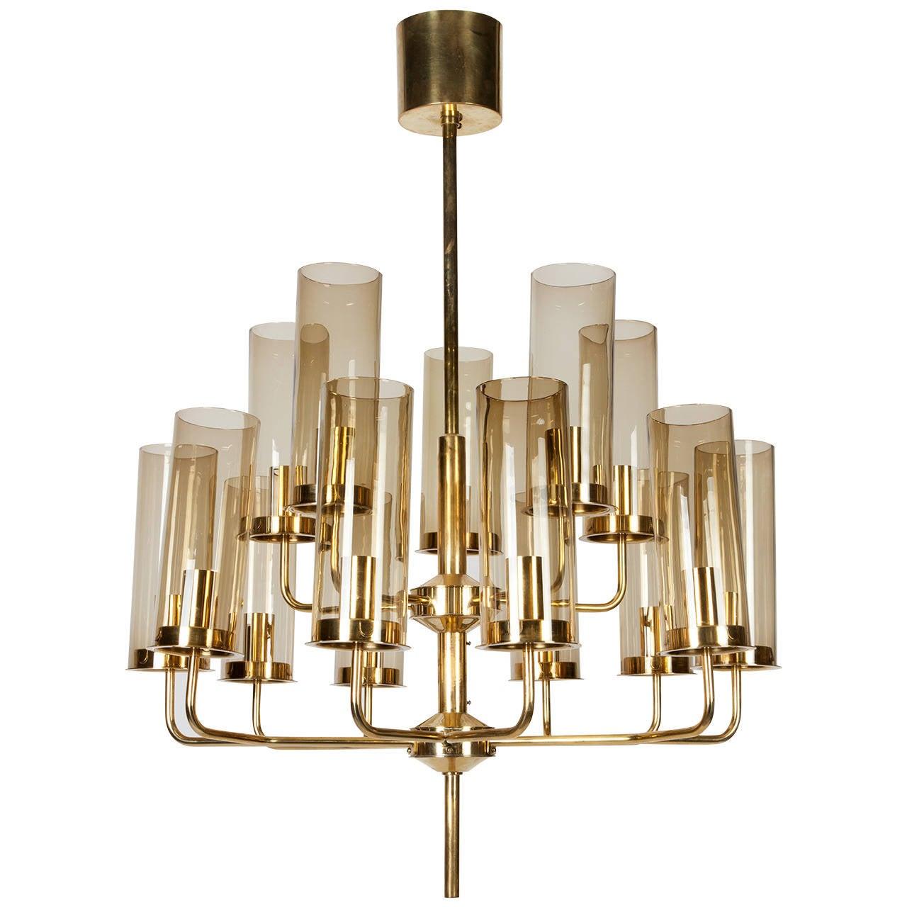 hans agne jakobsson chandelier at 1stdibs. Black Bedroom Furniture Sets. Home Design Ideas