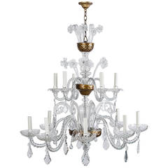 Murano Glass 13-Light Chandelier