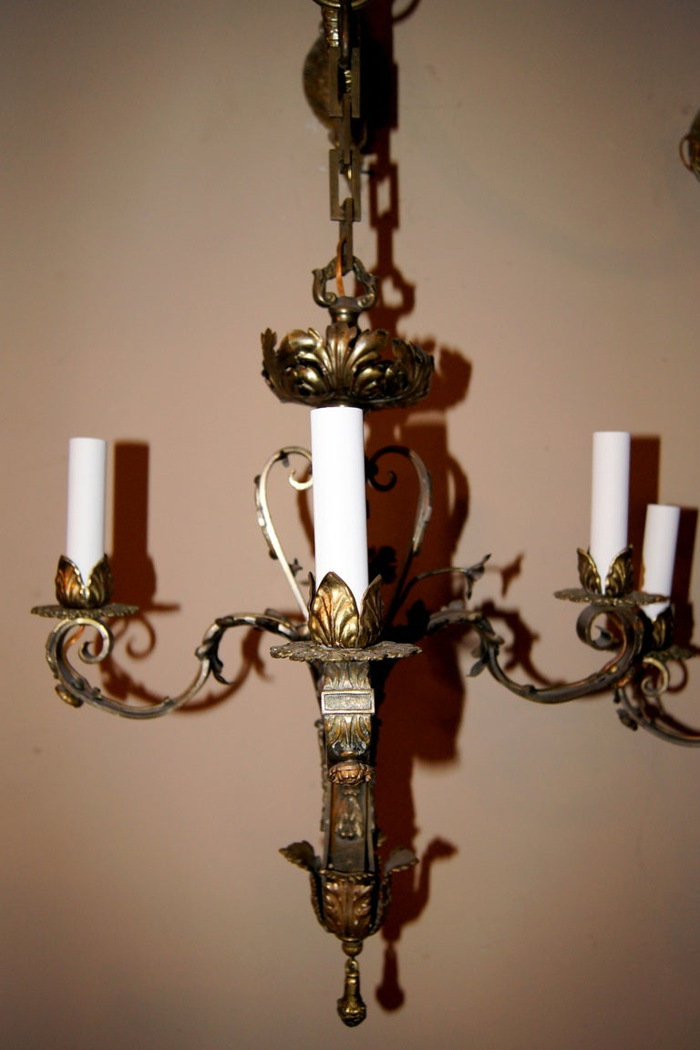 What Height Should Wall Sconces Be Hung : Pair of Chandelier-Sconces at 1stdibs