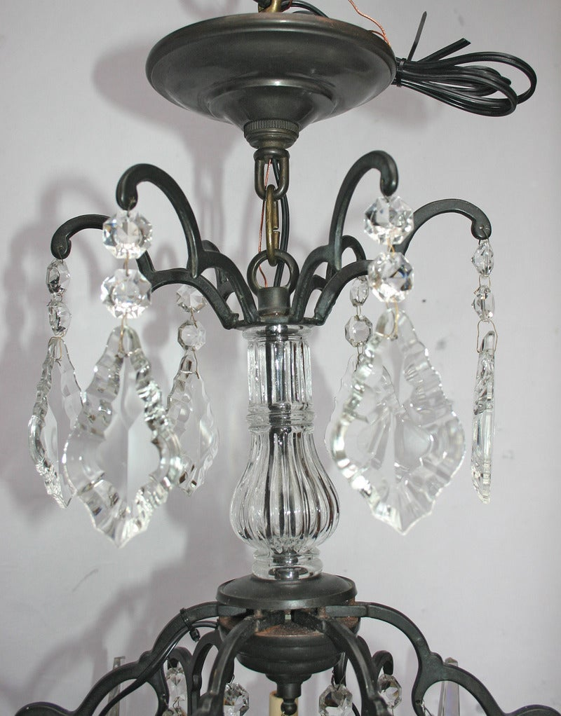 Neoclassical Crystal Chandelier For Sale At 1stdibs