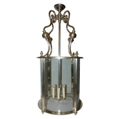 Large Silver Plated Lantern