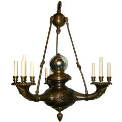 Large Neoclassic Chandelier