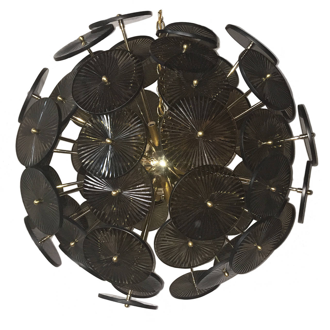 Large Sputnik Light Fixture