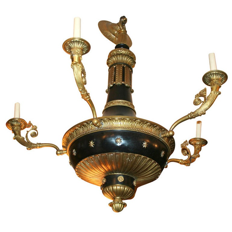 Large Empire Chandelier For Sale