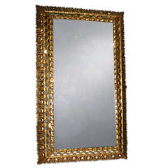Large Spanish Colonial Mirror