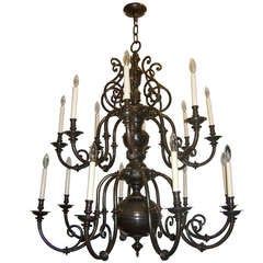 Large Dutch Chandelier