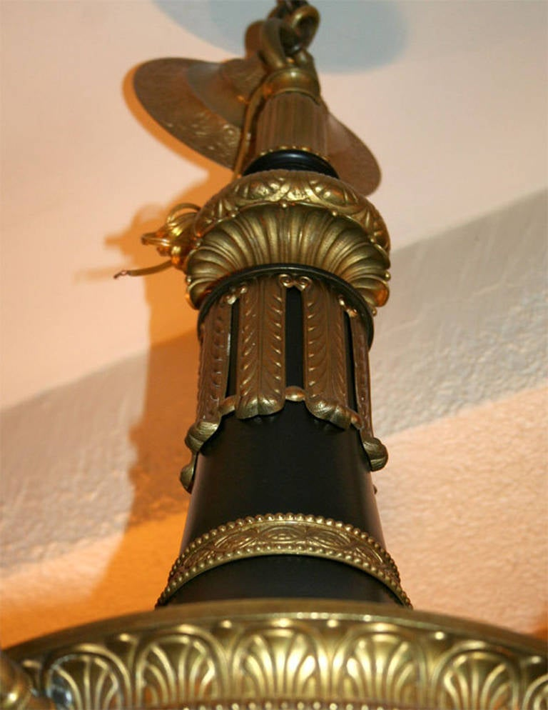 20th Century Large Empire Chandelier For Sale
