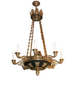 Pair of Empire Chandeliers