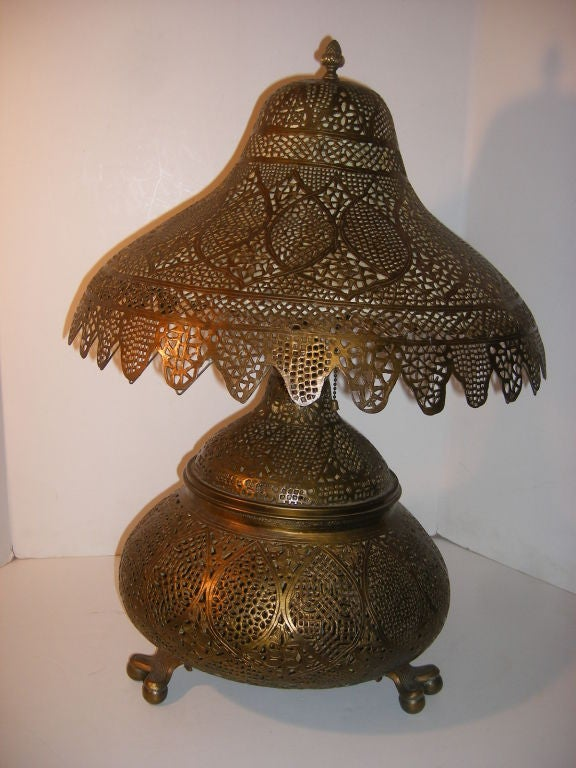 Middle Eastern Table Lamp For Sale At 1stdibs
