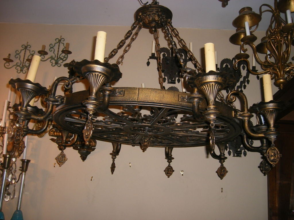 large gothic style chandelier at 1stdibs