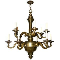 Dutch Double-Tiered Chandelier
