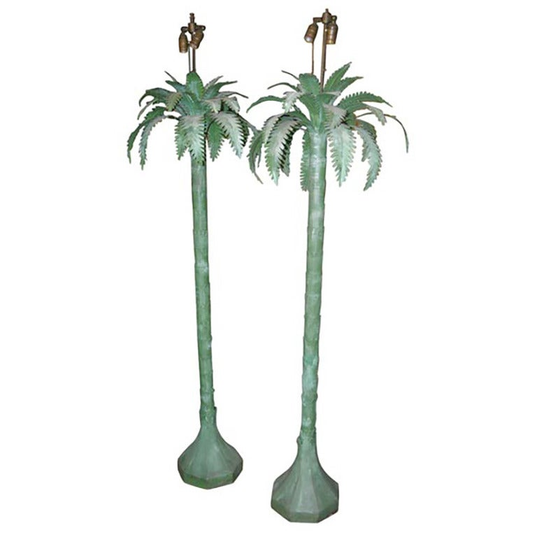 this pair of palm tree floor lamps is no longer available. Black Bedroom Furniture Sets. Home Design Ideas