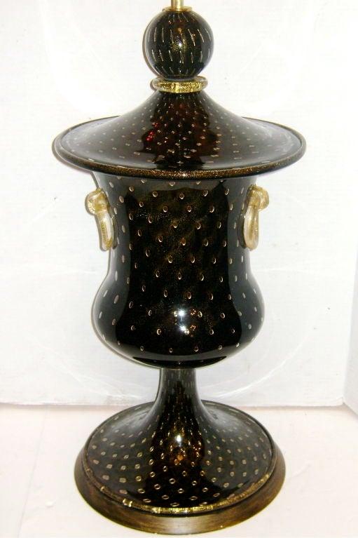 Large Venetian Glass Lamp 2