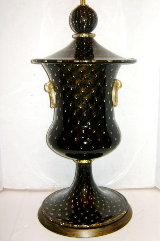 Large Venetian Glass Lamp 3