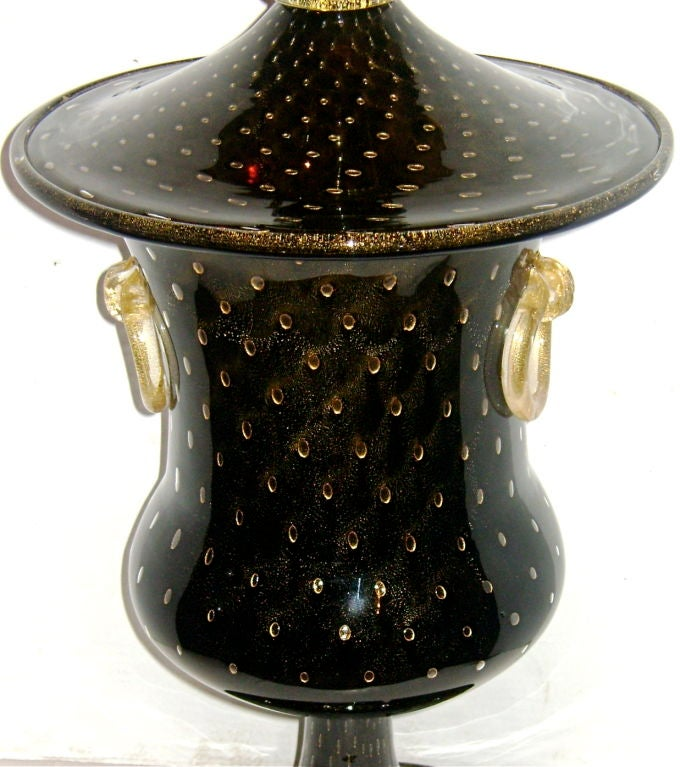 Large Venetian Glass Lamp 4