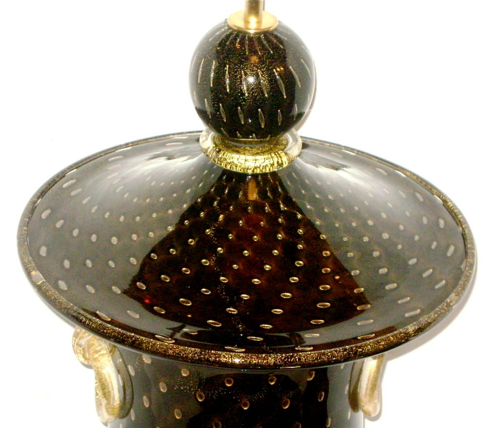 Large Venetian Glass Lamp 5