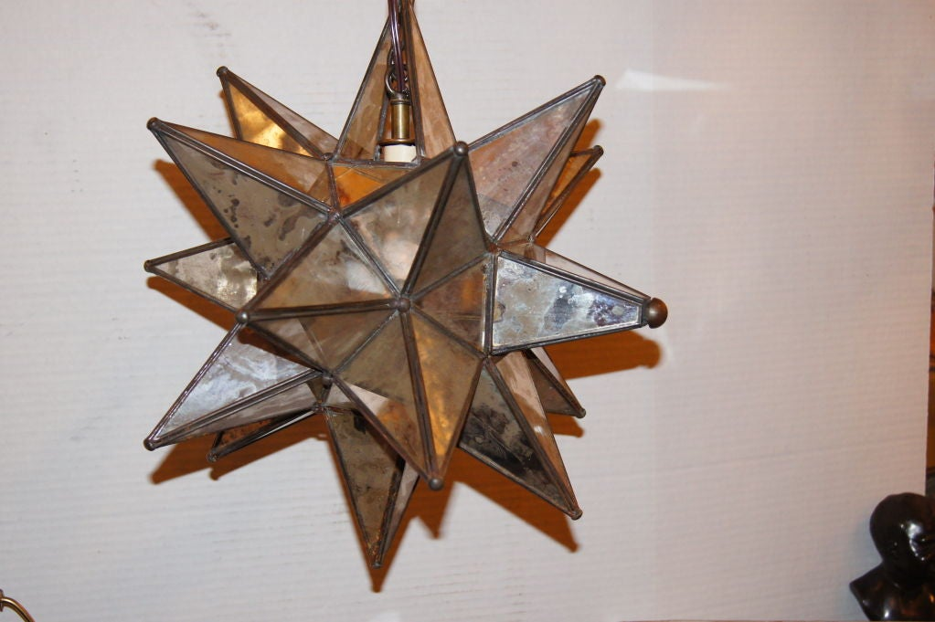 star shaped lantern at 1stdibs