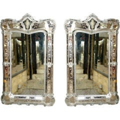 Pair of Palatial Venetian Mirrors