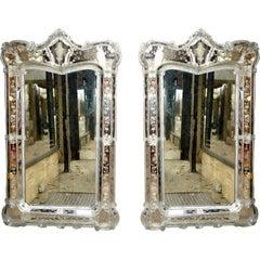 Pair of Palatial Venetian Mirrors