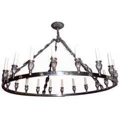 Silver Plated Chandelier