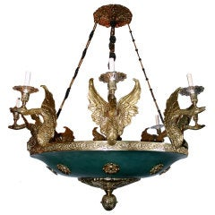 Large Empire Style Chandelier