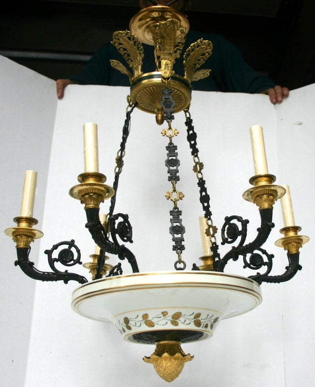 Porcelain Empire Style Chandelier 2
