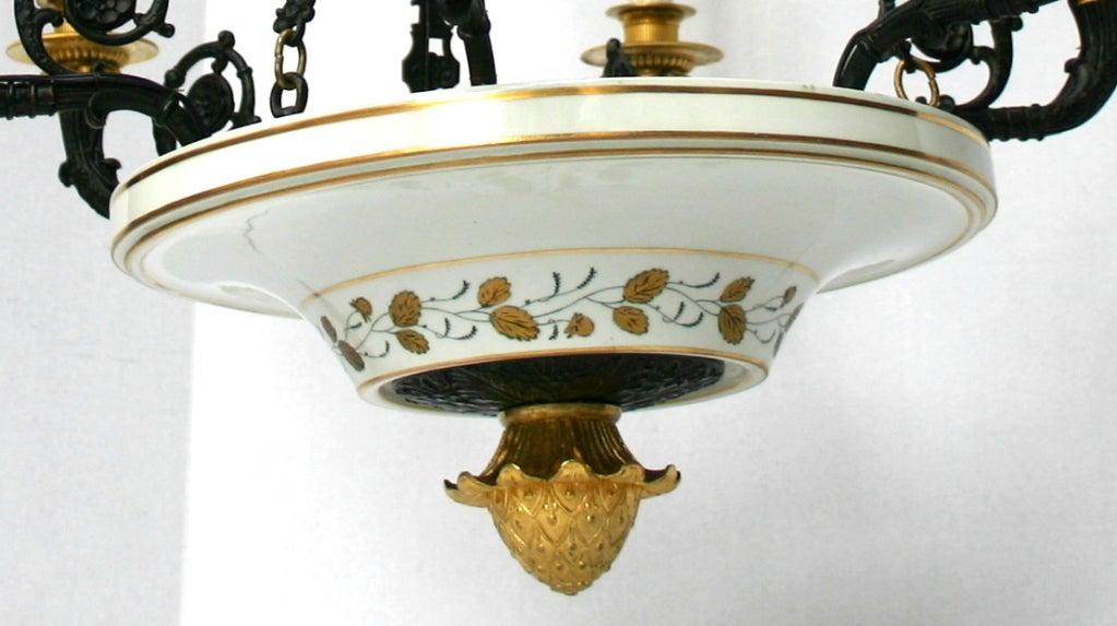 Porcelain Empire Style Chandelier 8