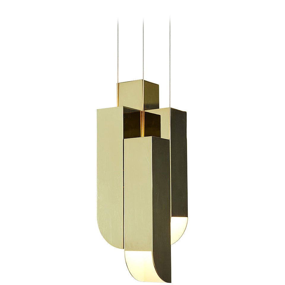 Cora Pendant Bronze Four Lights By Karl Zahn For Roll