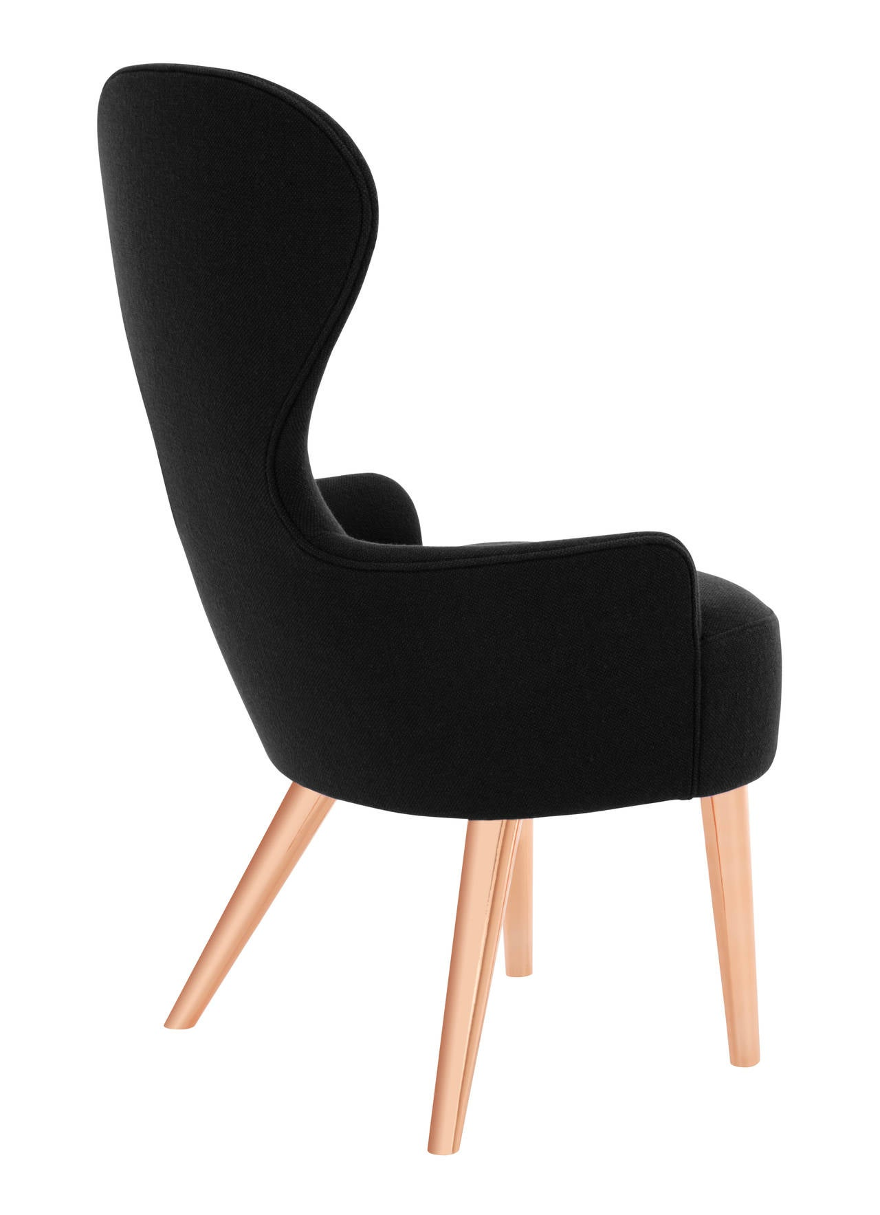 Wingback Dining Chair by Tom Dixon For Sale at 1stdibs
