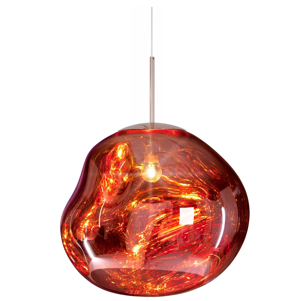 Melt pendant in copper by tom dixon for sale at 1stdibs Tom dixon lighting
