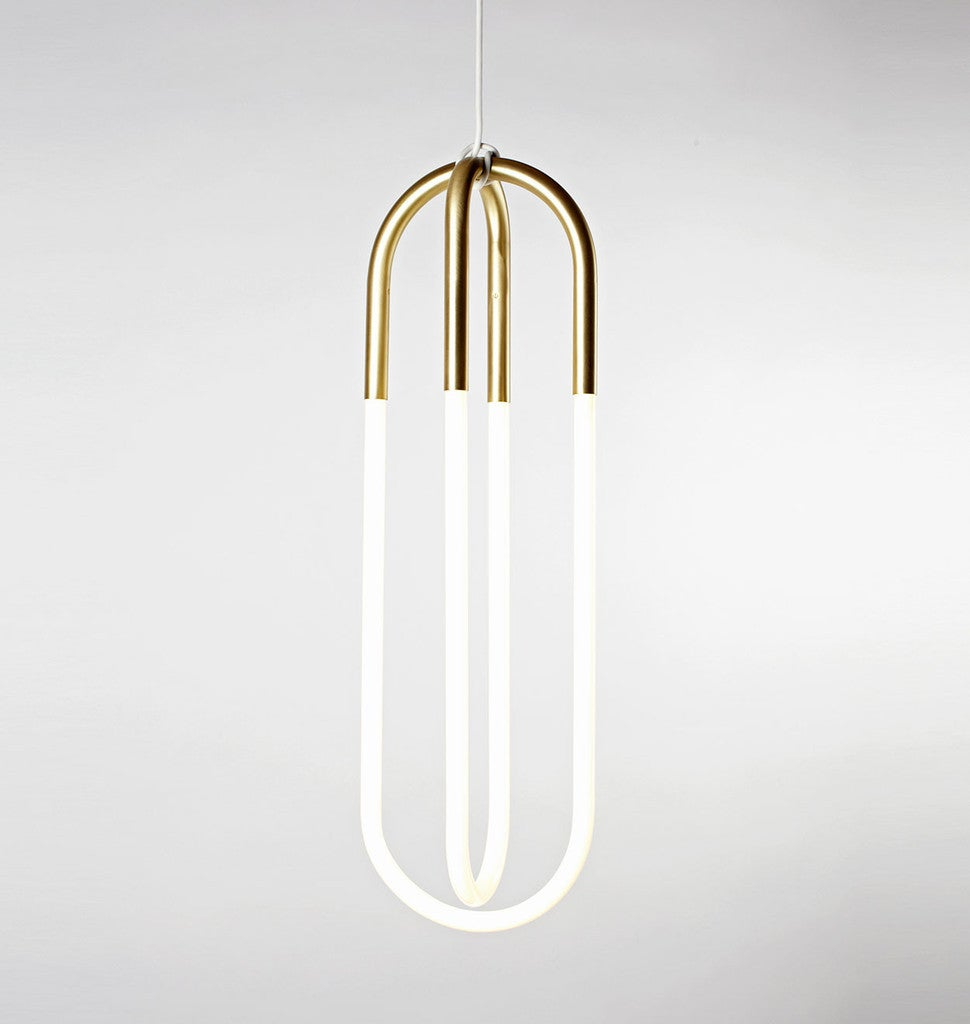 Rudi Double Loop Pendant Light by Lukas Peet for Roll and Hill For