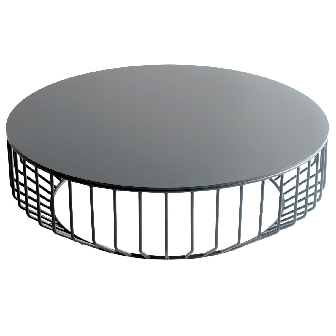 Charmant Wired Coffee Table (Steel Top) By Phase Design