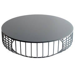 Wired Coffee Table (Steel Top) by Phase Design
