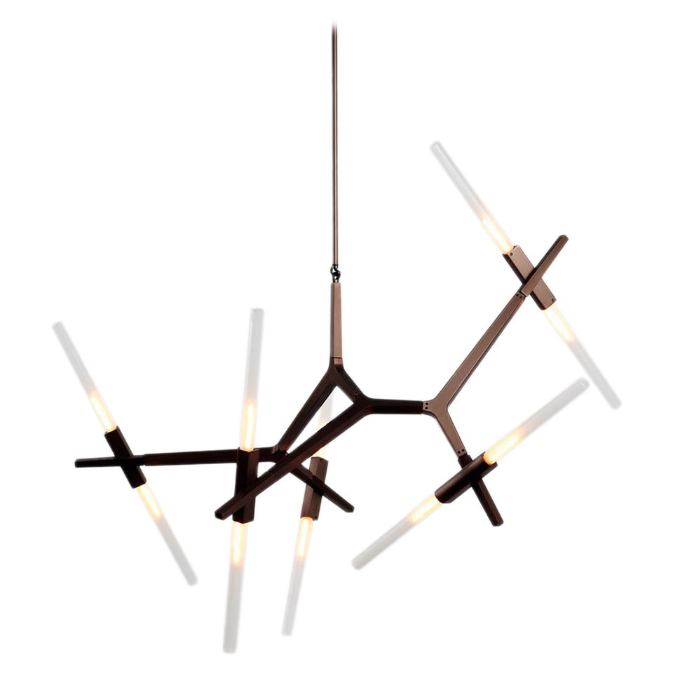 agnes chandelier by lindsey adelman for roll and hill for sale at 1stdibs. Black Bedroom Furniture Sets. Home Design Ideas