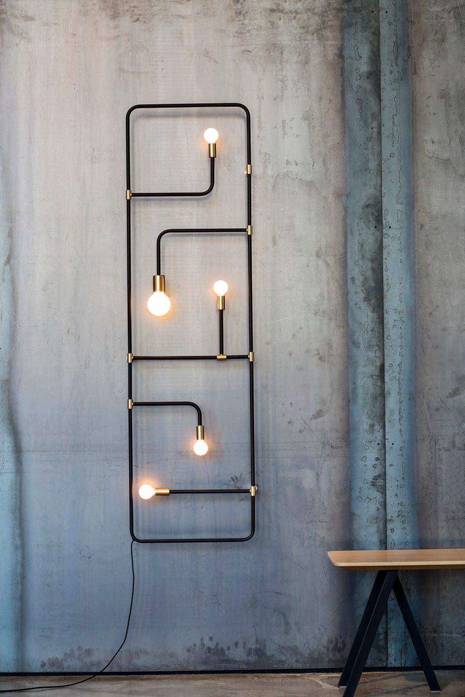 beaubien lamp by lambert et fils for sale at 1stdibs. Black Bedroom Furniture Sets. Home Design Ideas