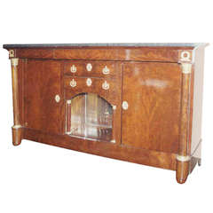 Late 19th Century Empire Side Cabinet