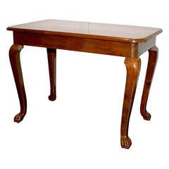 20th Century Mahogany Side Table