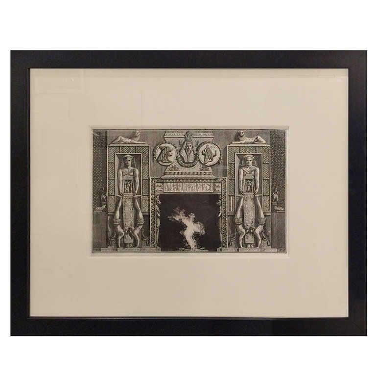 Late 19th Century Piranesi Engraving